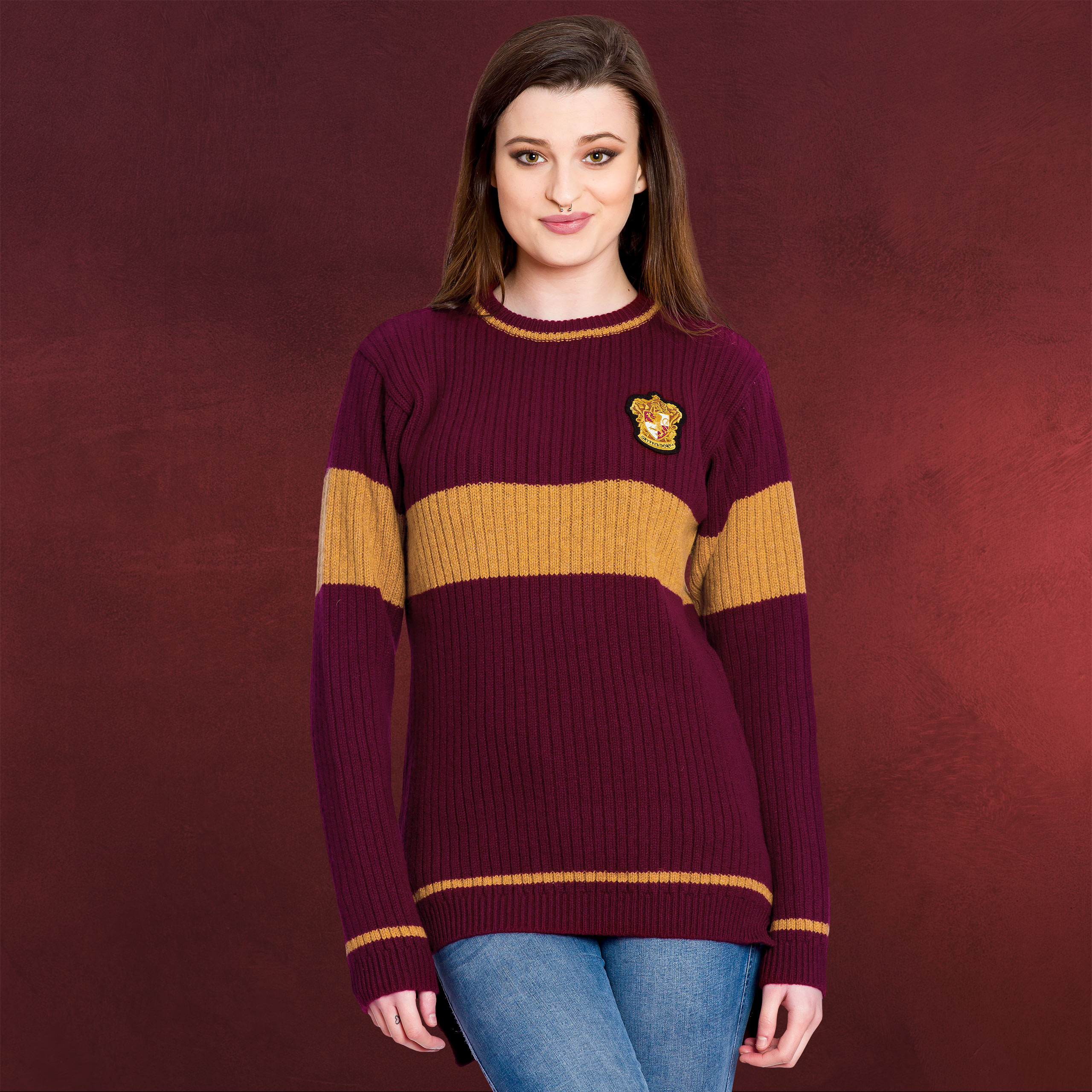 500db923a10 Harry Potter - Quidditch Gryffindor Sweater