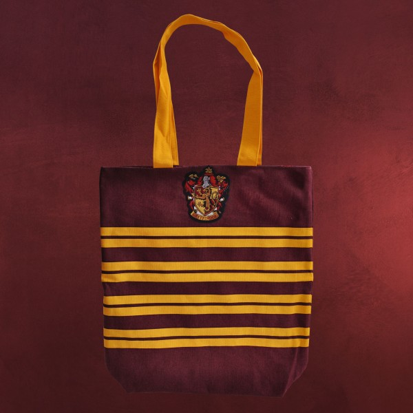 harry potter gryffindor shopper tasche zum wenden elbenwald. Black Bedroom Furniture Sets. Home Design Ideas