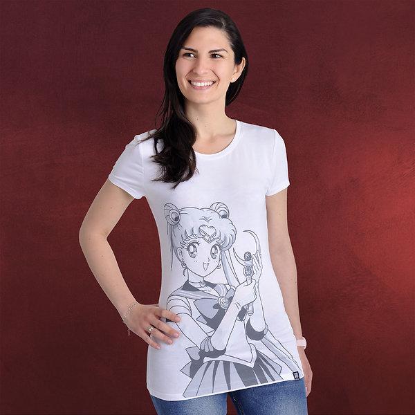 Sailor Moon - Bunny Girlie Shirt weiß