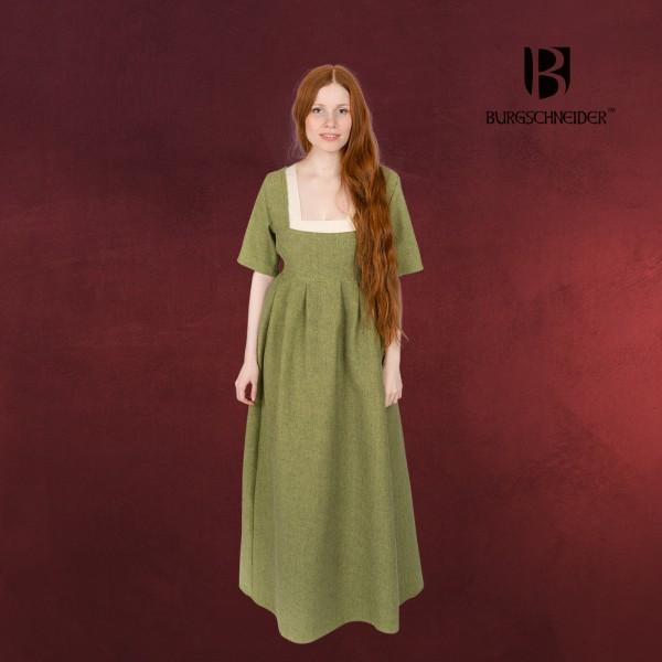 Mittelalter Kleid Frideswinde grün