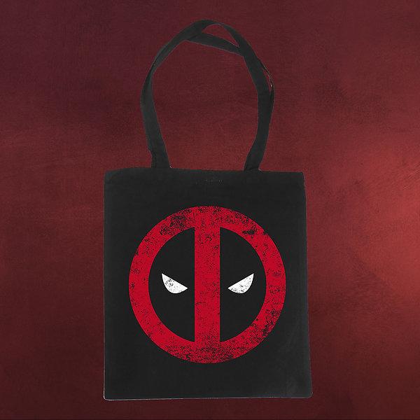 Deadpool - Logo Jutebeutel schwarz
