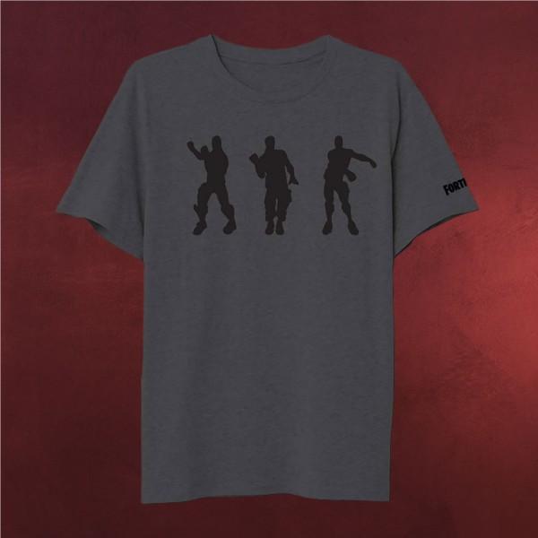 Fortnite Emote T Shirt Grau Elbenwald