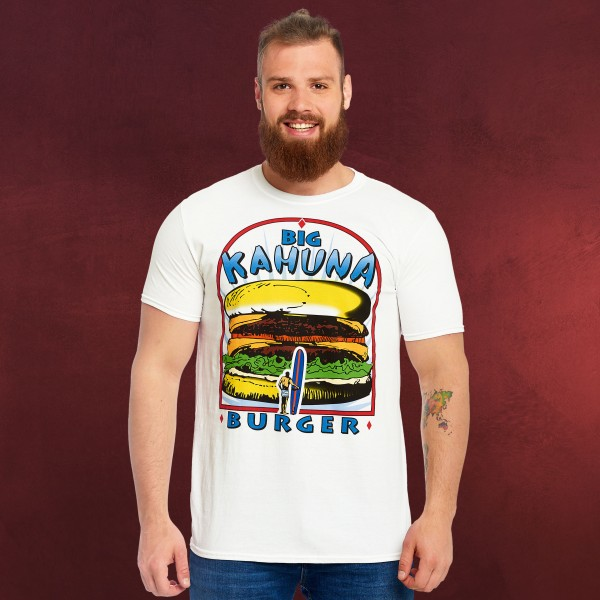 Pulp Fiction - Big Kahuna Burger T-Shirt weiß
