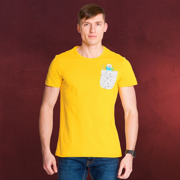 Adventure Time - Jake T-Shirt gelb