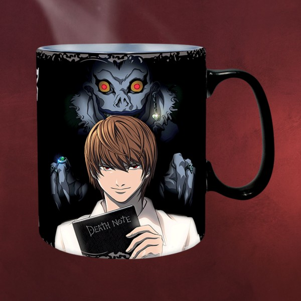 Death Note - Light Yagami & L Lawliet Thermoeffekt Tasse