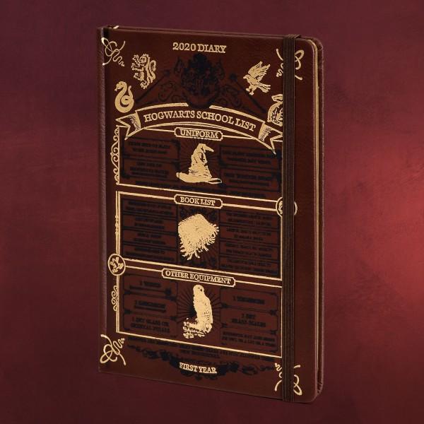 Harry Potter - Hogwarts School List Taschenkalender 2020