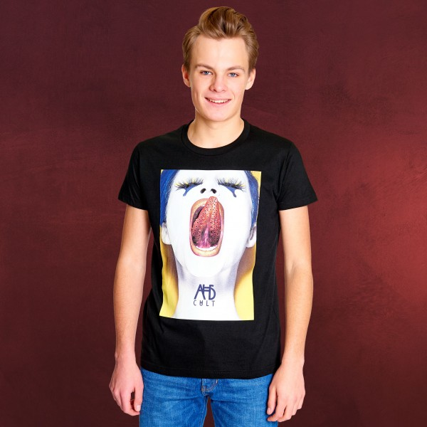American Horror Story - Creepy Holes T-Shirt schwarz