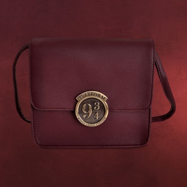 Harry Potter - Gleis 9 3/4 Metall Logo Handtasche