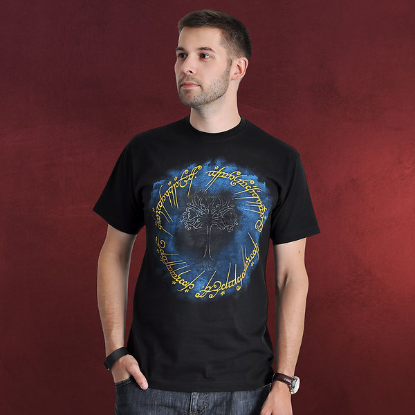 Herr der Ringe - Ring der Macht T-Shirt schwarz