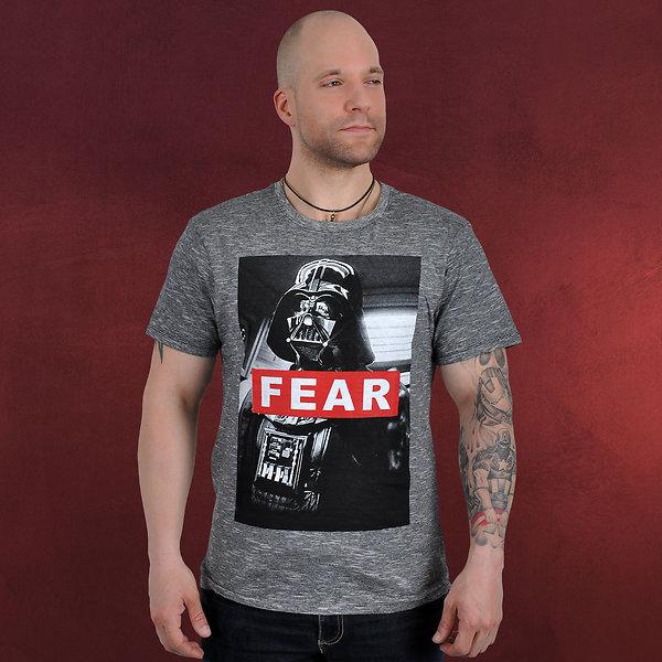 Star Wars - Darth Vader FearT-Shirt grau