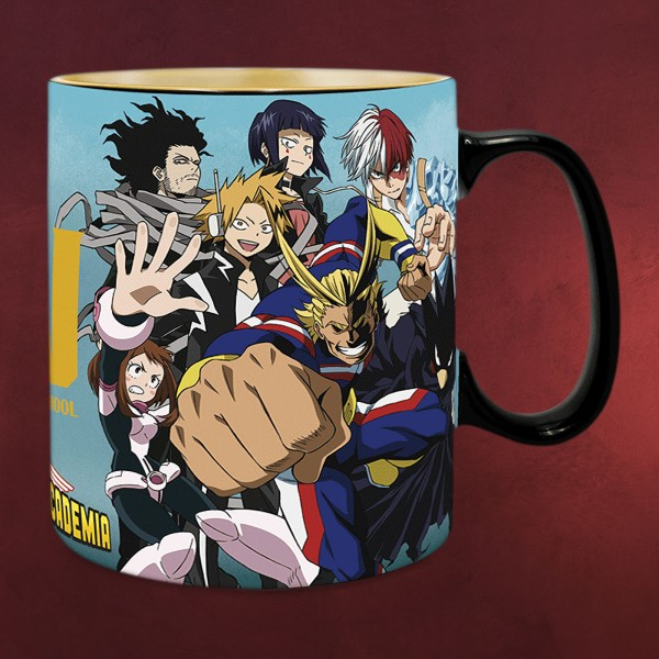 My Hero Academia - Group Thermoeffekt Tasse