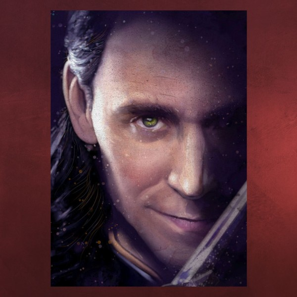 Loki - Marvel Metall Poster
