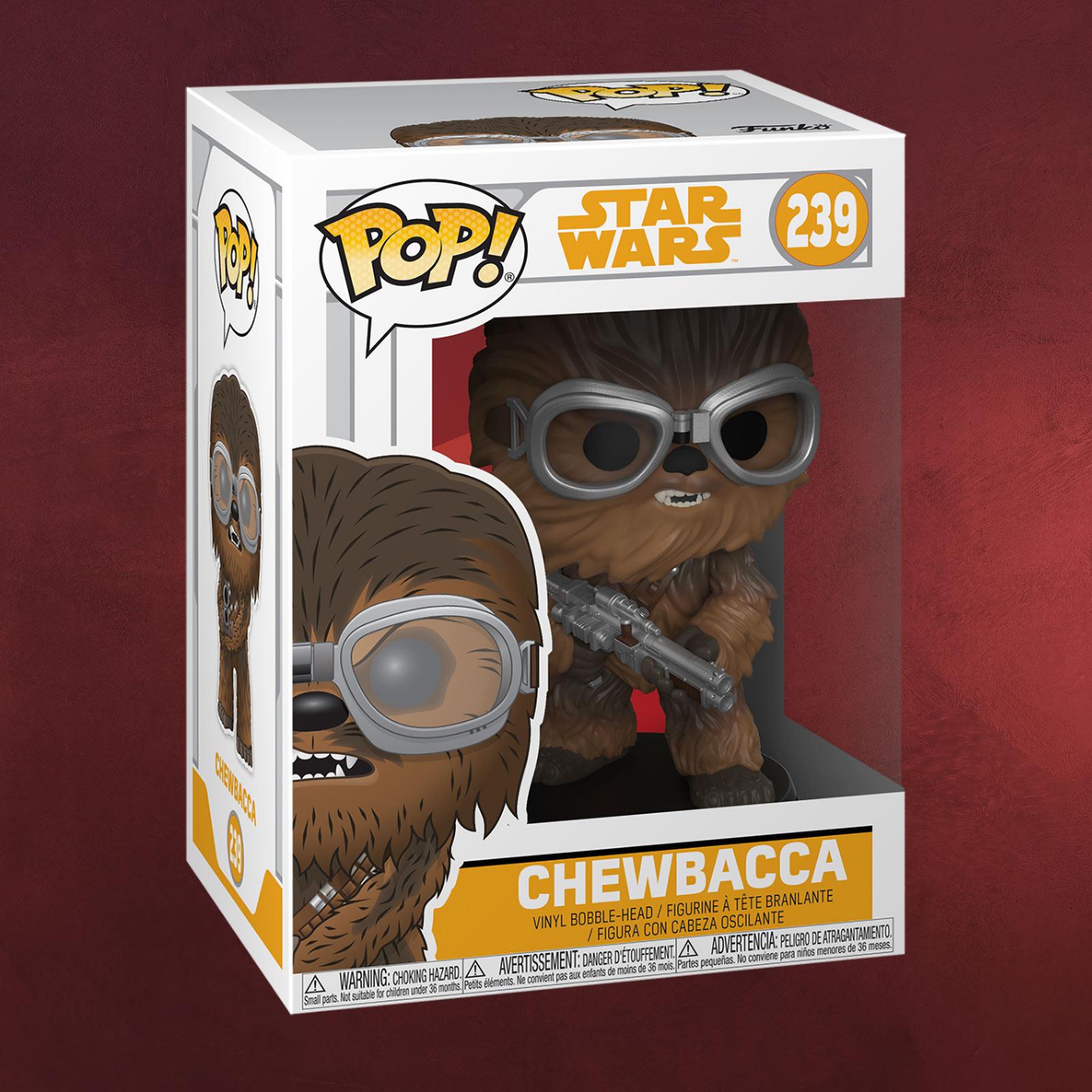 Star Wars Chewbacca Funko Pop Wackelkopf Figur