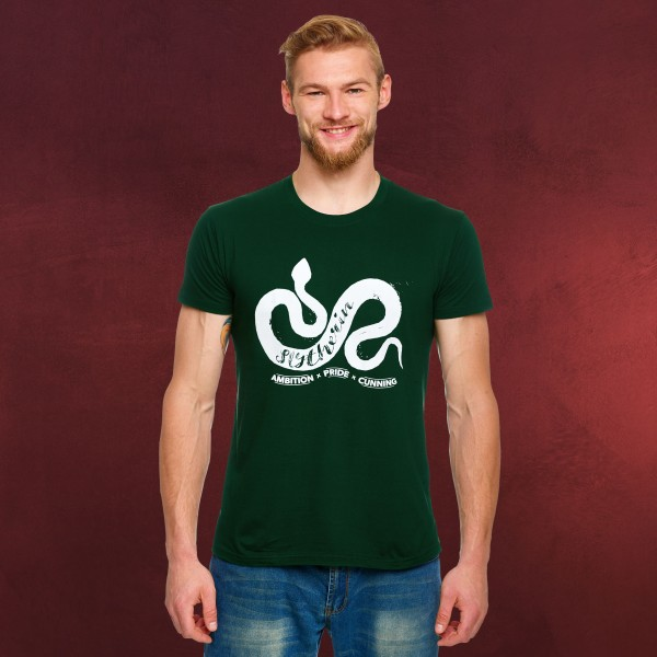 Harry Potter - Slytherin House Pride T-Shirt grün