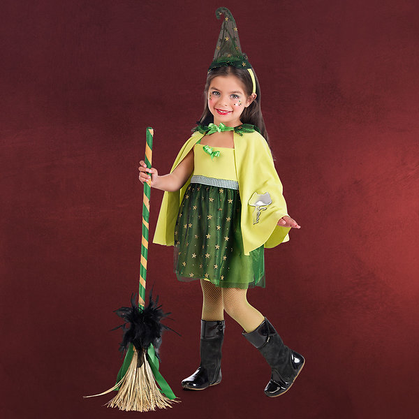 Grüne Hexe - Kinderkostüm
