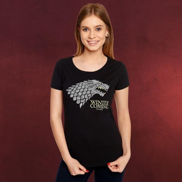 Game of Thrones - House Stark Wappen T-Shirt Damen