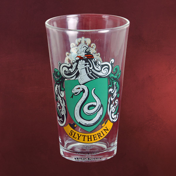 Harry Potter - Slytherin Wappen Glas