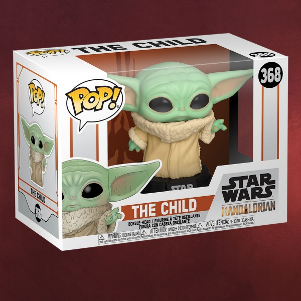 The Child Funko Pop Wackelkopf-Figur - Star Wars The Mandalorian