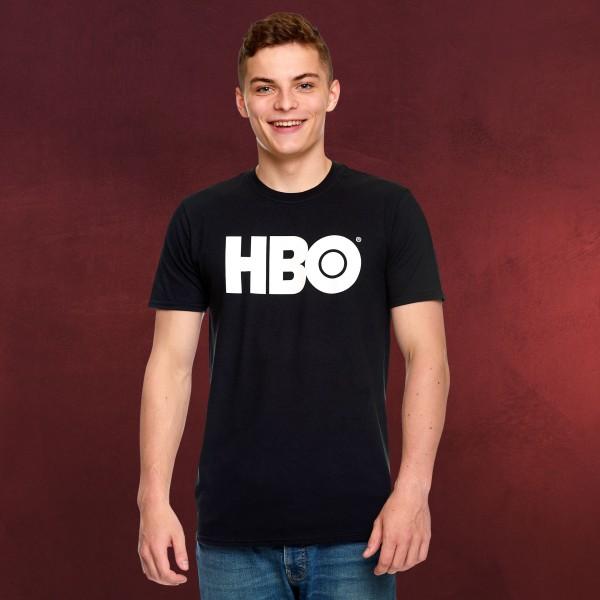 HBO - Logo T-Shirt schwarz