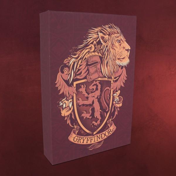 Harry Potter Gryffindor Wandbild Mit Licht Elbenwald