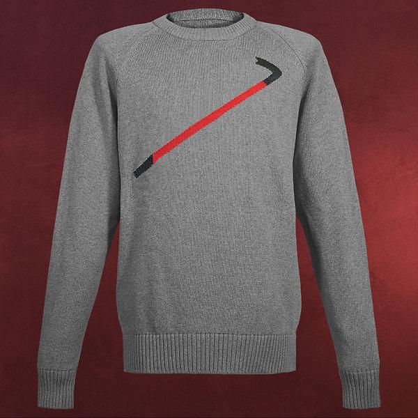 Half-Life - Crowbar Sweater grau