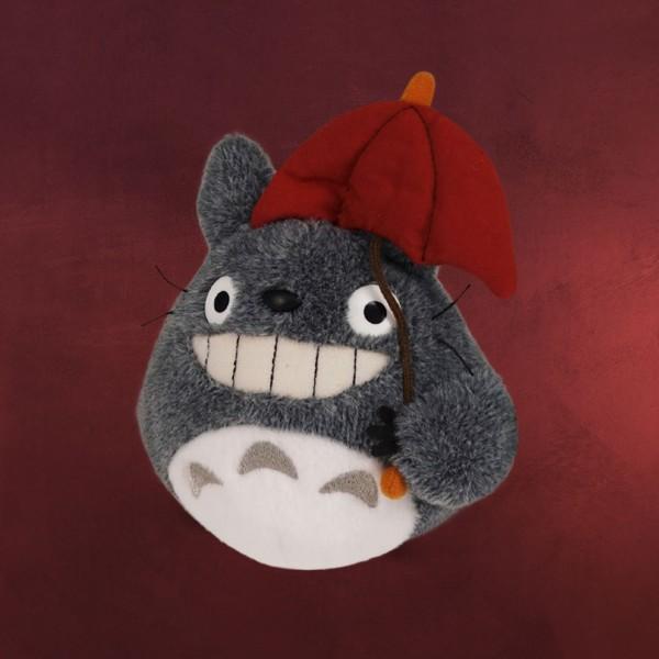 Totoro - Plüsch Figur mit Regenschirm 15 cm