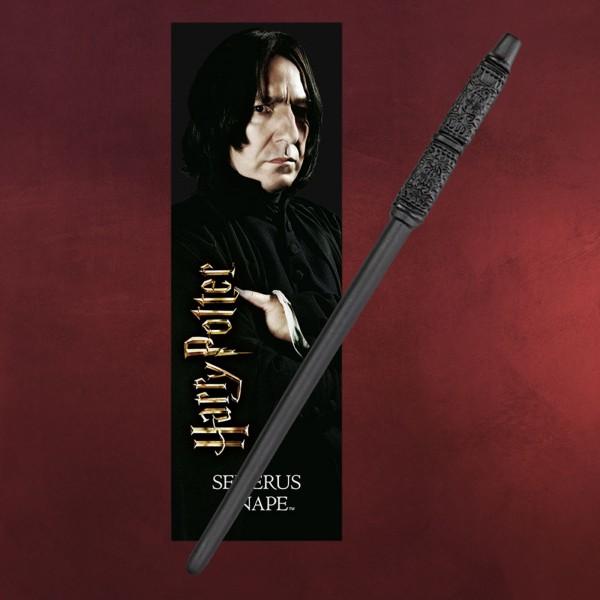 Snape Zauberstab für Jungzauberer mit Lesezeichen - Harry Potter