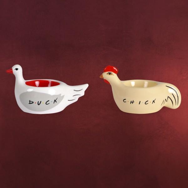 Friends - Chick & Duck Eierbecher 2er Set