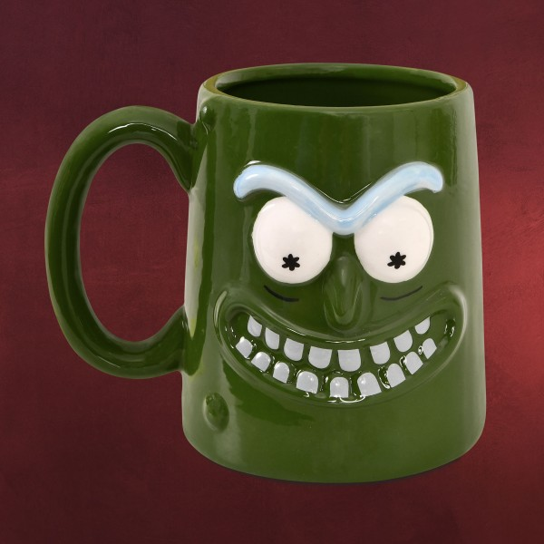 Rick and Morty - Pickle Rick 3D Tasse