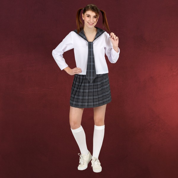 Cosplay School Girl Kostüm Damen