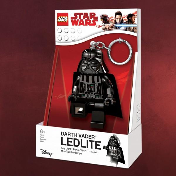 Star Wars - Darth Vader LEGO Schlüsselanhänger mit Licht