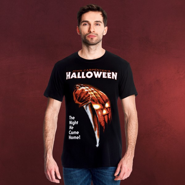Halloween - Movie Poster T-Shirt schwarz