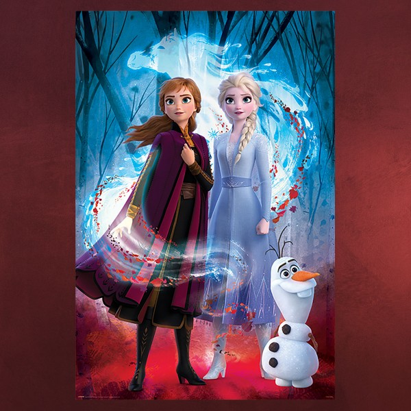 Frozen - Guided Spirit Maxi Poster