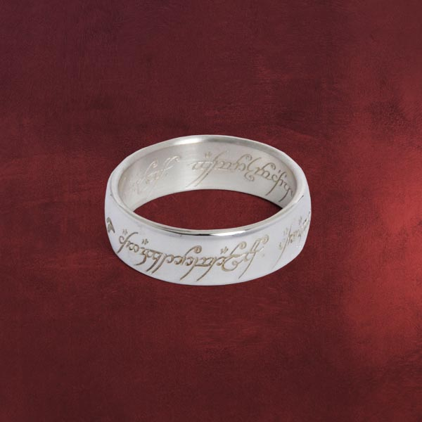 Der Herr Der Ringe Ring Silber Elbenwald