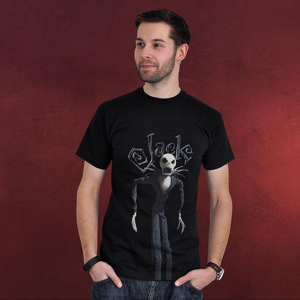 Nightmare Before Christmas - Jack T-Shirt schwarz