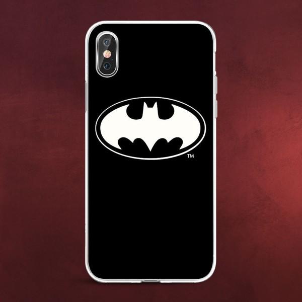 Batman - Logo iPhone X / XS Handyhülle Silikon schwarz