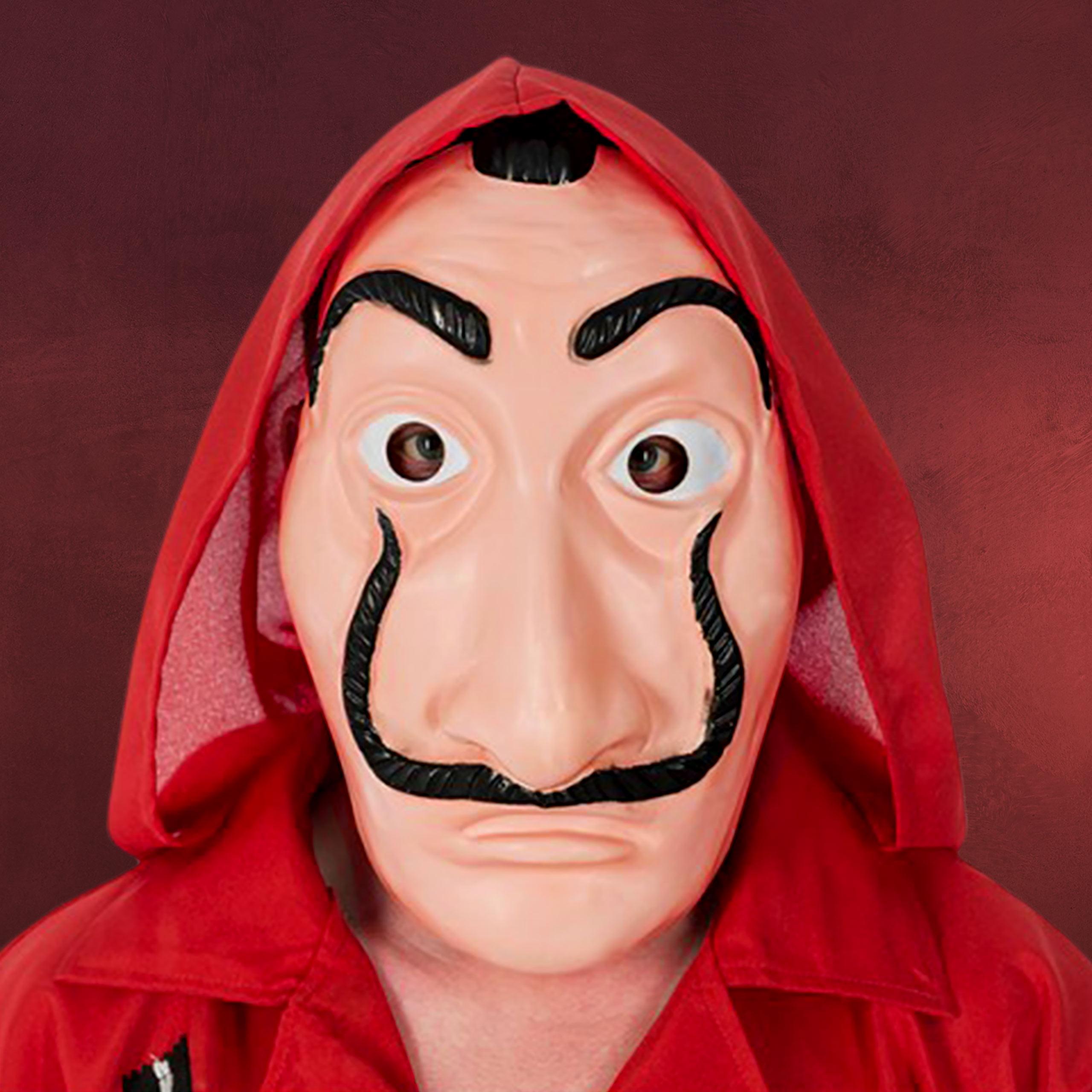 Kundschaft zuerst Entdecken Sie die neuesten Trends gut aussehen Schuhe verkaufen Salvador Kostüm Halb-Maske für Haus des Geldes Fans