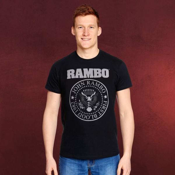 Rambo - First Blood Seal T-Shirt schwarz