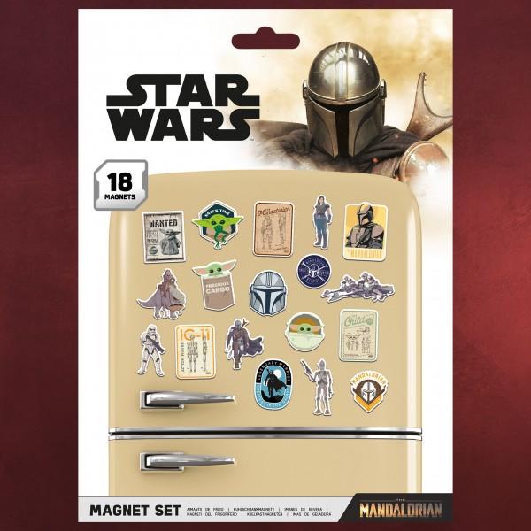 The Mandalorian Bounty Hunter Magnet-Set - Star Wars