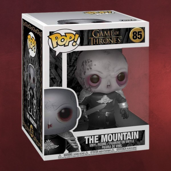 Game of Thrones - The Mountain Season 8 Funko Pop Figur 14 cm