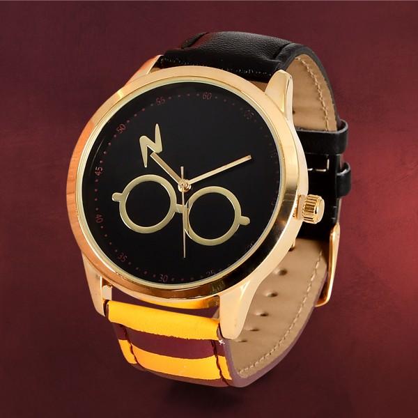 Harry Potter - Brille & Blitz Armbanduhr