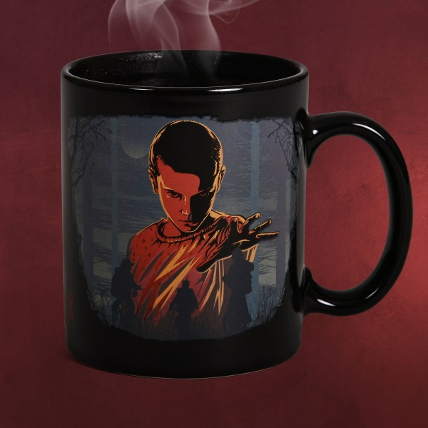 Stranger Things - Eleven Woods Thermoeffekt Tasse