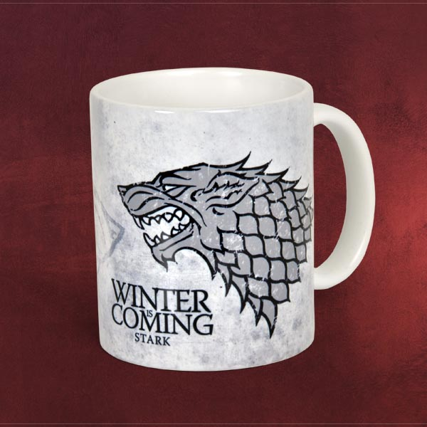 game of thrones house stark tasse elbenwald. Black Bedroom Furniture Sets. Home Design Ideas