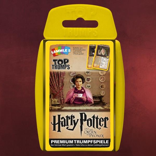 Harry Potter und der Orden des Phönix Top Trumps Spielkarten
