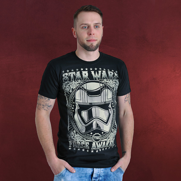 Star Wars - Tonal Trooper T-Shirt schwarz