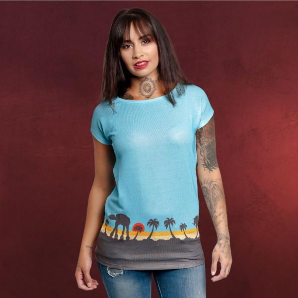 Star Wars - Scarif T-Shirt Damen blau