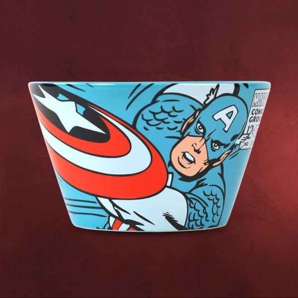 Captain America - Comic Müslischale