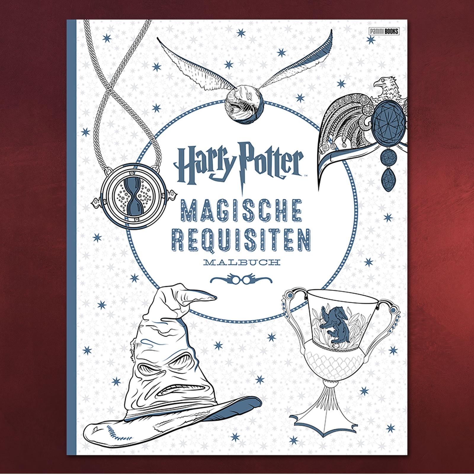 Harry Potter - Magische Requisiten Malbuch | Elbenwald