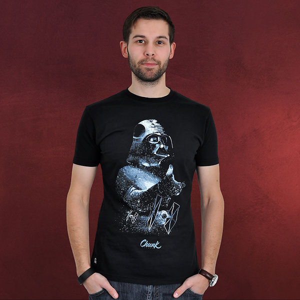 Star Wars - Vader Space Montage T-Shirt schwarz