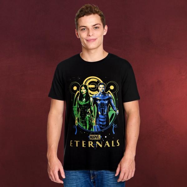 Eternals - Ikaris & Sersi T-Shirt schwarz